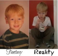 white knuckle parenting fantasy vs reality one news page parenting the fantasy vs the reality 240x229