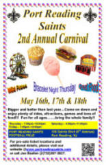 port reading saints annual carnival begins may 16